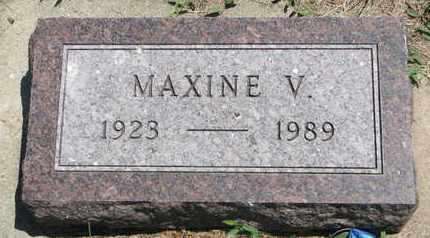 ERICSON, MAXINE V. - Union County, South Dakota | MAXINE V. ERICSON - South Dakota Gravestone Photos