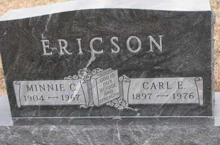 ERICSON, CARL E. - Union County, South Dakota | CARL E. ERICSON - South Dakota Gravestone Photos