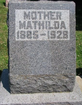 ERICSON, MATHILDA - Union County, South Dakota | MATHILDA ERICSON - South Dakota Gravestone Photos