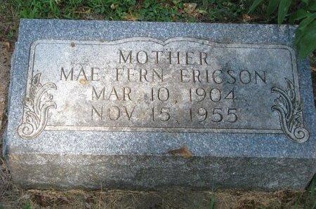 ERICSON, MAE FERN - Union County, South Dakota | MAE FERN ERICSON - South Dakota Gravestone Photos