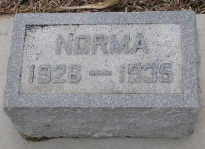 ERICSON, NORMA - Union County, South Dakota   NORMA ERICSON - South Dakota Gravestone Photos