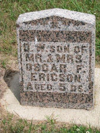 ERICSON, O. W. - Union County, South Dakota | O. W. ERICSON - South Dakota Gravestone Photos