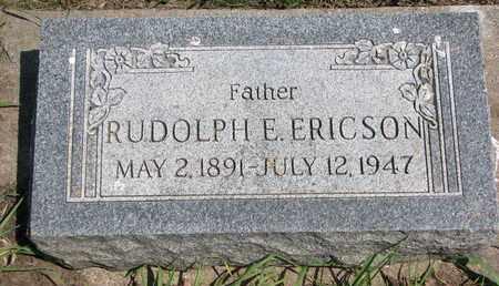 ERICSON, RUDOLPH E. - Union County, South Dakota | RUDOLPH E. ERICSON - South Dakota Gravestone Photos