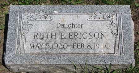 ERICSON, RUTH E. - Union County, South Dakota | RUTH E. ERICSON - South Dakota Gravestone Photos