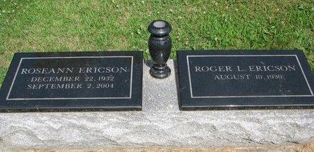 ERICSON, ROGER L. - Union County, South Dakota | ROGER L. ERICSON - South Dakota Gravestone Photos