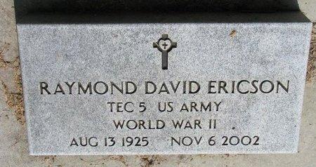 ERICSON, RAYMOND DAVID (WORLD WAR II) - Union County, South Dakota   RAYMOND DAVID (WORLD WAR II) ERICSON - South Dakota Gravestone Photos