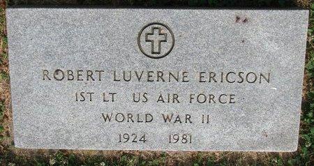 ERICSON, ROBERT LUVERNE (WORLD WAR II) - Union County, South Dakota | ROBERT LUVERNE (WORLD WAR II) ERICSON - South Dakota Gravestone Photos