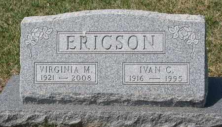 ERICSON, IVAN C. - Union County, South Dakota | IVAN C. ERICSON - South Dakota Gravestone Photos