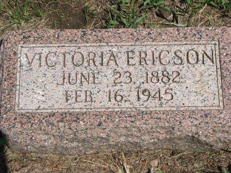 ERICSON, VICTORIA - Union County, South Dakota | VICTORIA ERICSON - South Dakota Gravestone Photos