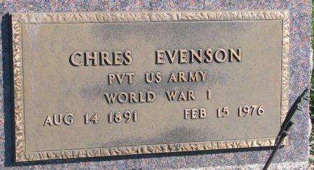 EVENSON, CHRES (WORLD WAR I) - Union County, South Dakota | CHRES (WORLD WAR I) EVENSON - South Dakota Gravestone Photos