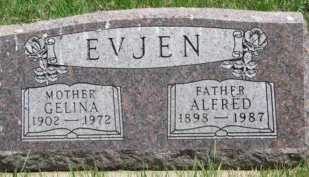 EVJEN, GELINA - Union County, South Dakota | GELINA EVJEN - South Dakota Gravestone Photos