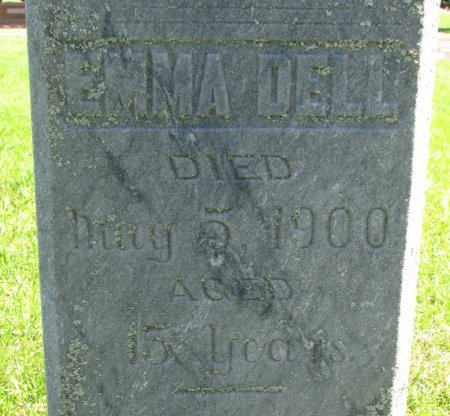 FIELD, EMMA DELL (CLOSE UP) - Union County, South Dakota | EMMA DELL (CLOSE UP) FIELD - South Dakota Gravestone Photos
