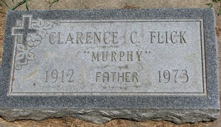 """FLICK, CLARENCE C. """"MURPHY"""" - Union County, South Dakota 