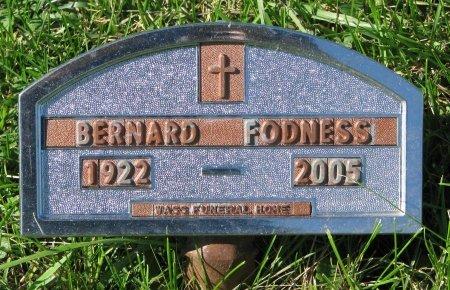 FODNESS, BERNARD  - Union County, South Dakota   BERNARD  FODNESS - South Dakota Gravestone Photos