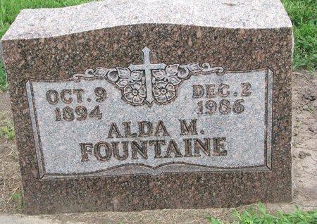 FOUNTAINE, ALDA M. - Union County, South Dakota   ALDA M. FOUNTAINE - South Dakota Gravestone Photos