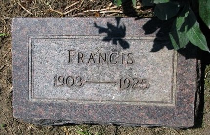 FOUNTAINE, FRANCIS - Union County, South Dakota | FRANCIS FOUNTAINE - South Dakota Gravestone Photos