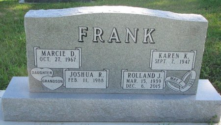 FRANK, JOSHUA R. - Union County, South Dakota | JOSHUA R. FRANK - South Dakota Gravestone Photos