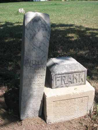 FRANK, WILLIAM - Union County, South Dakota | WILLIAM FRANK - South Dakota Gravestone Photos
