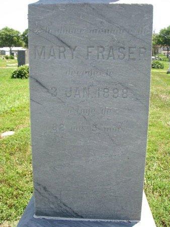 FRASER, MARY (CLOSEUP) - Union County, South Dakota | MARY (CLOSEUP) FRASER - South Dakota Gravestone Photos