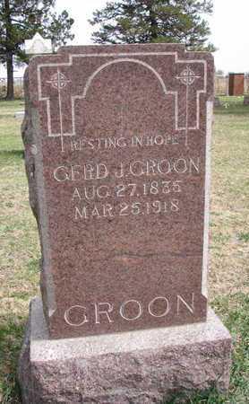 GROON, GERD J. - Union County, South Dakota | GERD J. GROON - South Dakota Gravestone Photos