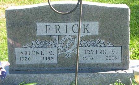 FRICK, IRVING MONROE - Union County, South Dakota | IRVING MONROE FRICK - South Dakota Gravestone Photos