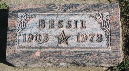 BACON FRIEBERG, BESSIE - Union County, South Dakota | BESSIE BACON FRIEBERG - South Dakota Gravestone Photos