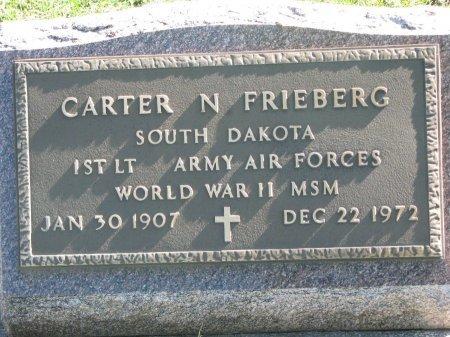 FRIEBERG, CARTER N. (WORLD WAR II) - Union County, South Dakota | CARTER N. (WORLD WAR II) FRIEBERG - South Dakota Gravestone Photos