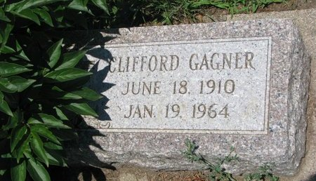 GAGNER, CLIFFORD - Union County, South Dakota | CLIFFORD GAGNER - South Dakota Gravestone Photos
