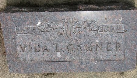 GAGNER, VIDA L. - Union County, South Dakota | VIDA L. GAGNER - South Dakota Gravestone Photos