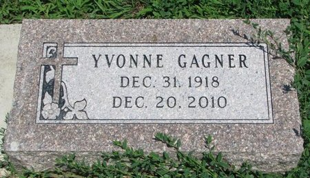 GAGNER, YVONNE THERESA - Union County, South Dakota | YVONNE THERESA GAGNER - South Dakota Gravestone Photos