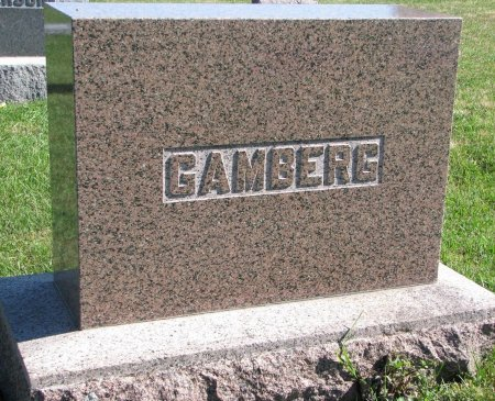 GAMBERG, *FAMILY MONUMENT - Union County, South Dakota | *FAMILY MONUMENT GAMBERG - South Dakota Gravestone Photos