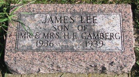 GAMBERG, JAMES LEE - Union County, South Dakota | JAMES LEE GAMBERG - South Dakota Gravestone Photos