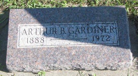 GARDINER, ARTHUR B. - Union County, South Dakota | ARTHUR B. GARDINER - South Dakota Gravestone Photos