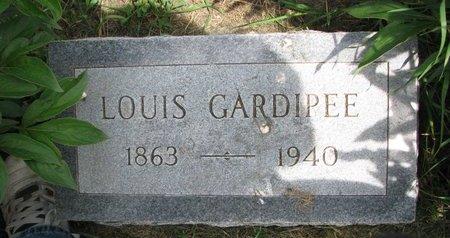 GARDIPEE, LOUIS - Union County, South Dakota   LOUIS GARDIPEE - South Dakota Gravestone Photos