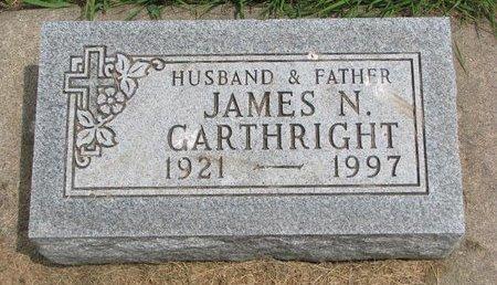 "GARTHRIGHT, JAMES NATHAN ""JIM"" - Union County, South Dakota | JAMES NATHAN ""JIM"" GARTHRIGHT - South Dakota Gravestone Photos"