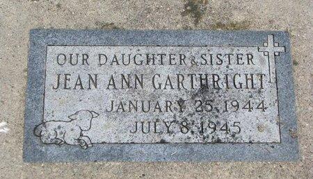 GARTHRIGHT, JEAN ANN - Union County, South Dakota | JEAN ANN GARTHRIGHT - South Dakota Gravestone Photos