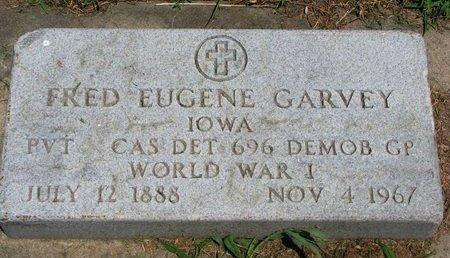 GARVEY, FRED EUGENE (WORLD WAR I) - Union County, South Dakota | FRED EUGENE (WORLD WAR I) GARVEY - South Dakota Gravestone Photos