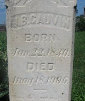 GAUVIN, JEAN BAPTISTE (CLOSEUP) - Union County, South Dakota | JEAN BAPTISTE (CLOSEUP) GAUVIN - South Dakota Gravestone Photos