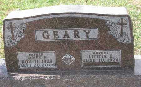 CHICOINE GEARY, LITITIA E. - Union County, South Dakota | LITITIA E. CHICOINE GEARY - South Dakota Gravestone Photos