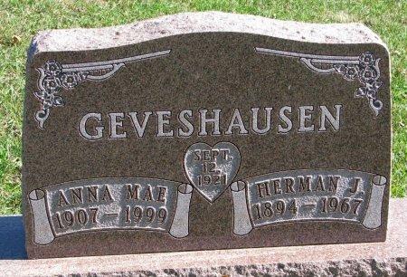 GEVESHAUSEN, HERMAN J. - Union County, South Dakota | HERMAN J. GEVESHAUSEN - South Dakota Gravestone Photos