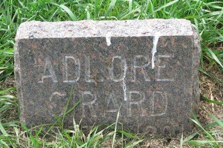 GIRARD, ADLORE - Union County, South Dakota   ADLORE GIRARD - South Dakota Gravestone Photos