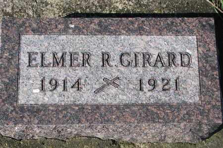 GIRARD, ELMER R. - Union County, South Dakota   ELMER R. GIRARD - South Dakota Gravestone Photos