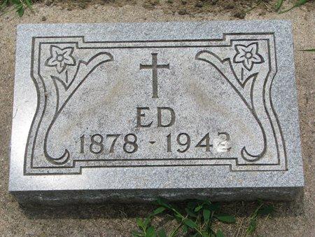 "GIRARD, EDWARD ""ED"" - Union County, South Dakota   EDWARD ""ED"" GIRARD - South Dakota Gravestone Photos"