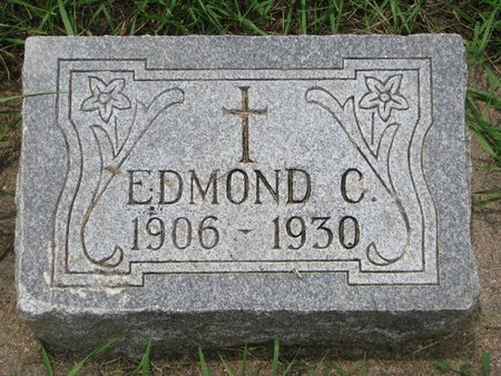 GIRARD, EDMOND C. - Union County, South Dakota   EDMOND C. GIRARD - South Dakota Gravestone Photos