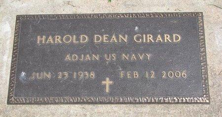 GIRARD, HAROLD DEAN (US NAVY) - Union County, South Dakota | HAROLD DEAN (US NAVY) GIRARD - South Dakota Gravestone Photos