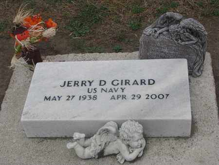 GIRARD, JERRY D. (MILITAY) - Union County, South Dakota | JERRY D. (MILITAY) GIRARD - South Dakota Gravestone Photos