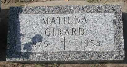 GIRARD, MATILDA - Union County, South Dakota | MATILDA GIRARD - South Dakota Gravestone Photos