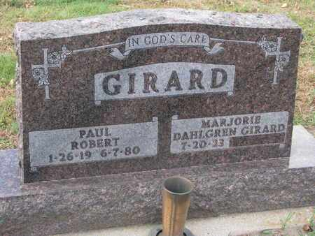 GIRARD, MARJORIE - Union County, South Dakota   MARJORIE GIRARD - South Dakota Gravestone Photos