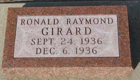 GIRARD, RONALD RAYMOND - Union County, South Dakota   RONALD RAYMOND GIRARD - South Dakota Gravestone Photos