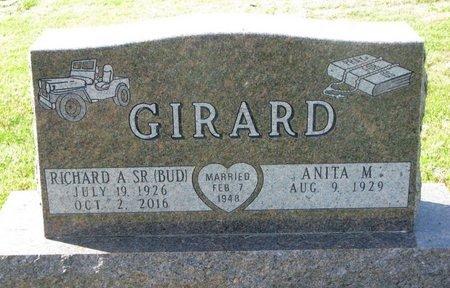 "GIRARD, RICHARD A. ""BUD"" - Union County, South Dakota | RICHARD A. ""BUD"" GIRARD - South Dakota Gravestone Photos"